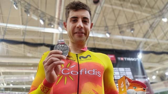 💪 🚴 Espectacular plata de Sebastián Mora en puntuación en la Copa del Mundo en pista
