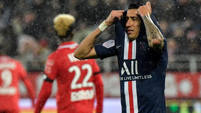 Sloppy PSG beaten by Dijon in Ligue 1