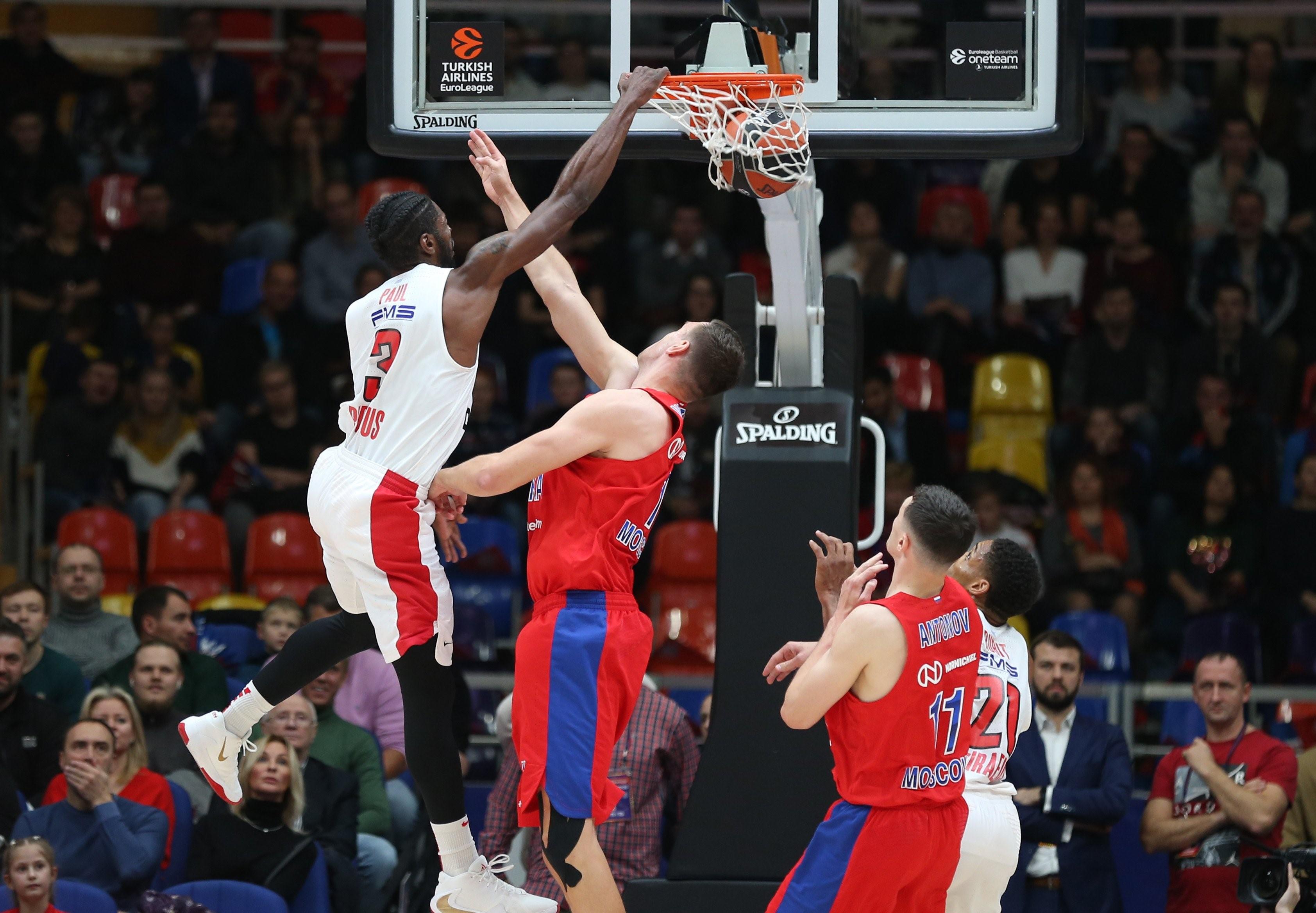 Brandon Paul (Olympiakos), CSKA Moskova-Olympiakos