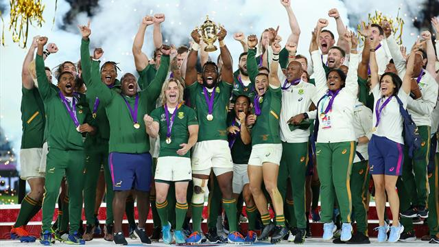 Relentless South Africa beat England to win Rugby World Cup