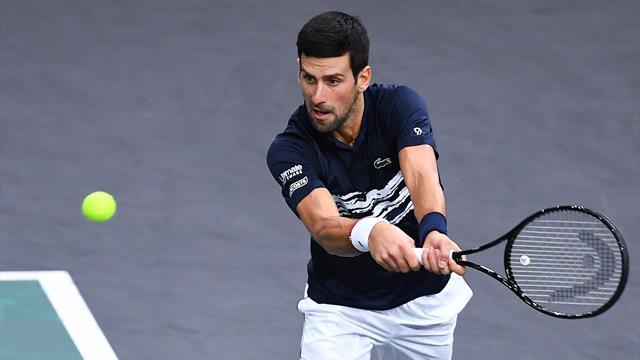 Deux rallyes surhumains pour s'offrir le set : Djokovic est un mur