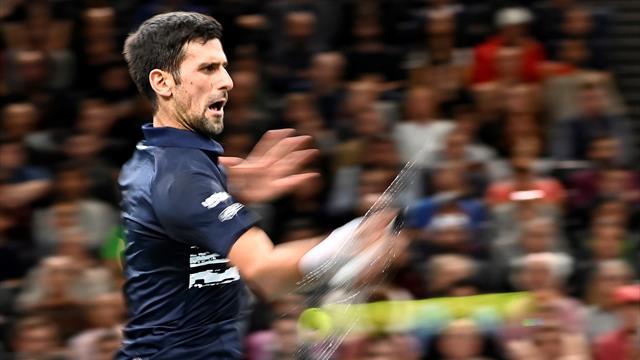 Un sang-froid diabolique et une régularité d'horloger : Djokovic a refroidi Dimitrov