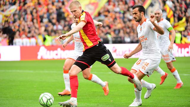 Deux de chute pour Lorient, Lens rejoint Ajaccio et Troyes en tête
