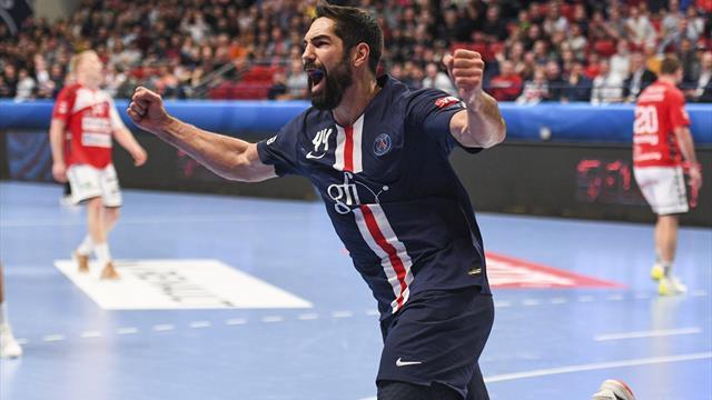 Le PSG repart de l'avant face à Aalborg, Montpellier coince encore