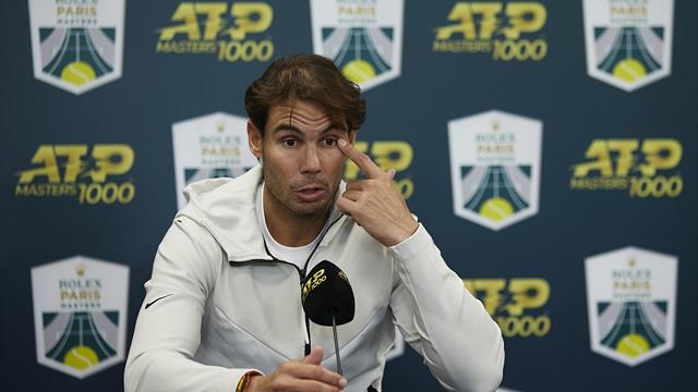 'Super sad moment' - Nadal forced to withdraw from Paris Masters semi-final