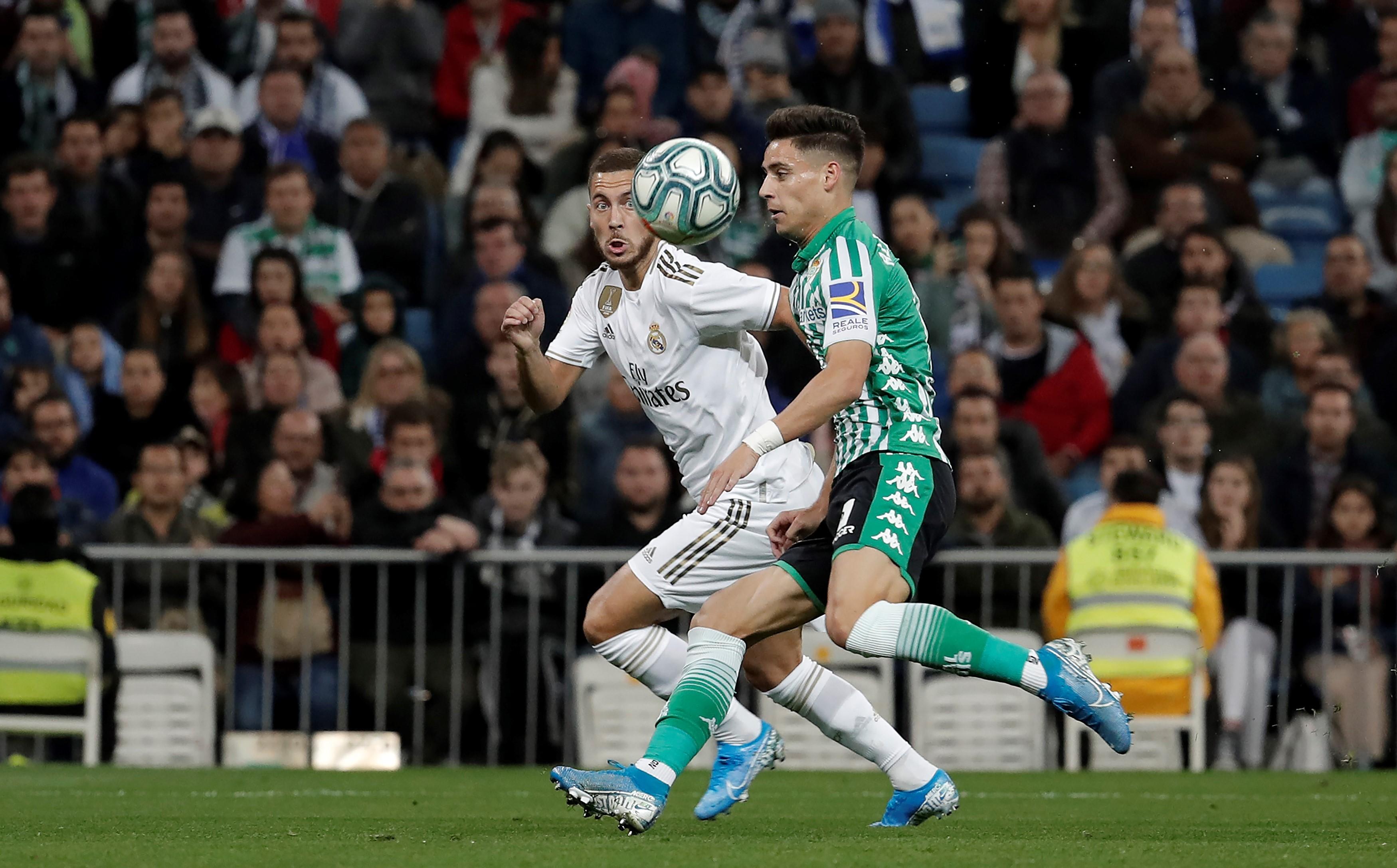Eden Hazard ve Alex Moreno | Real Madrid - Real Betis | La Liga 12. Hafta