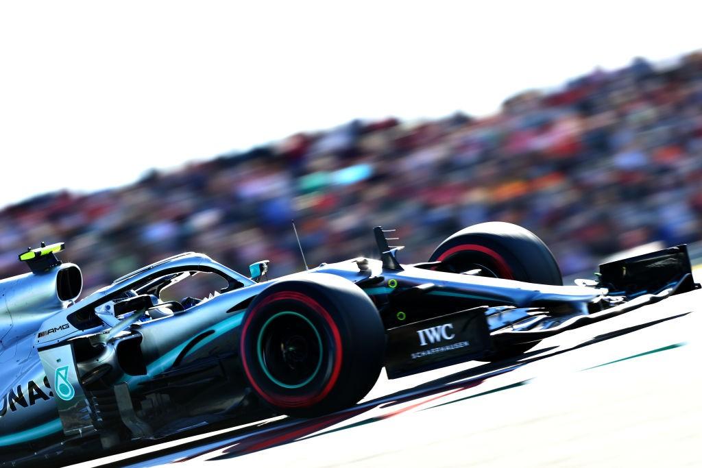 Valtteri Bottas (Mercedes), 2019 ABD Grand Prix'si