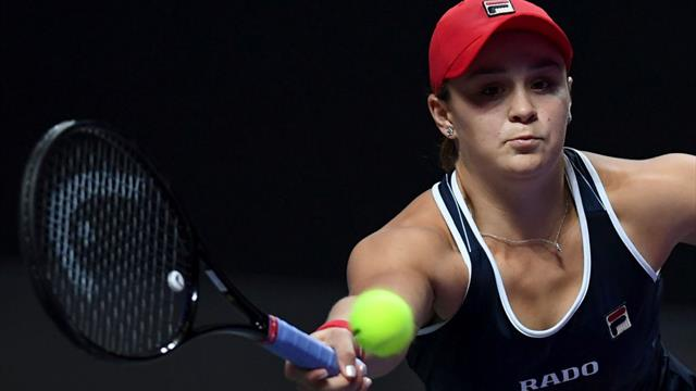 Barty eyes Fed Cup win to close out stellar season