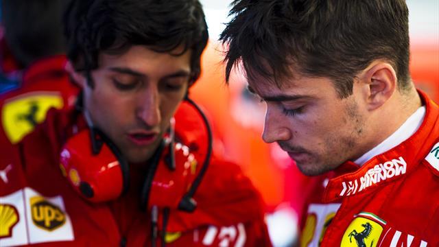 Vettel et Leclerc pas vernis : Des millièmes envolés et des places du mauvais côté de la grille