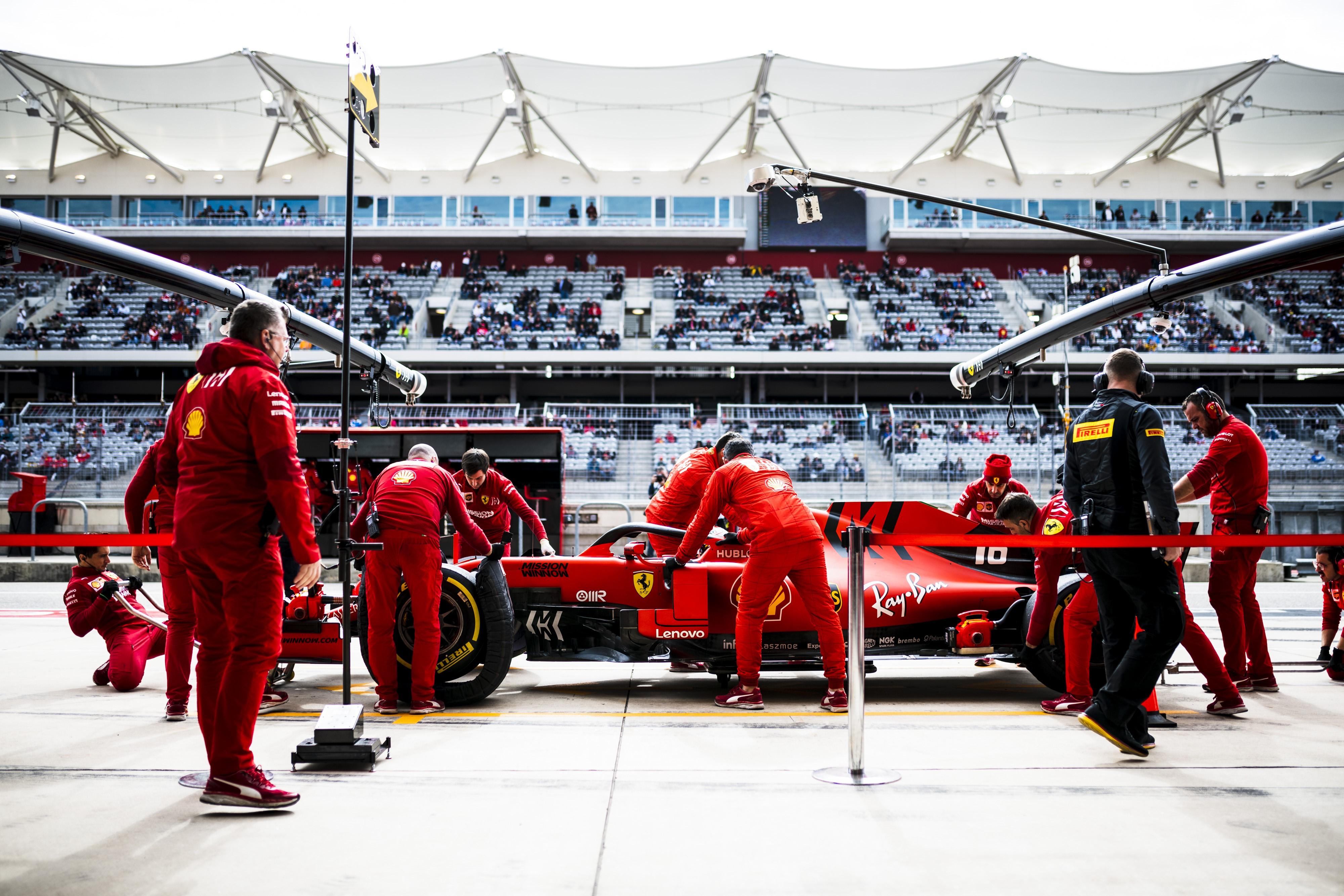 Charles Leclerc (Ferrari) au Grand Prix des Etats-Unis d'Amérique 2019