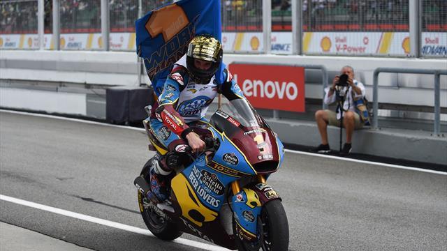 Après Marc, Alex : Marquez champion du monde Moto2