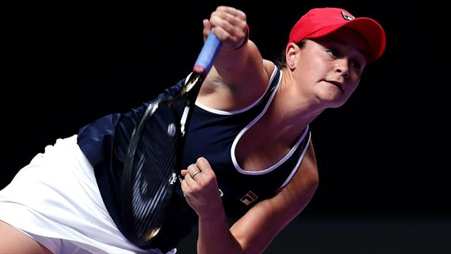 Delighted Barty turns sights on Fed Cup final