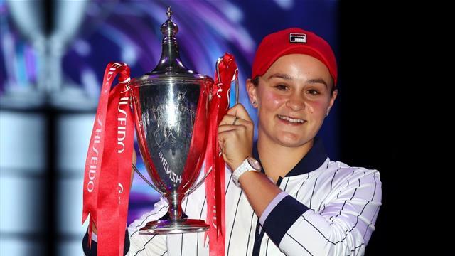 Barty pockets record £3.4m with WTA Finals win over Svitolina