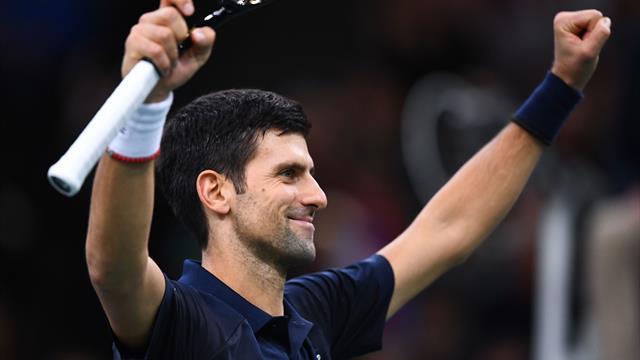 Djokovic ustoppelig i Paris Masters-finalen