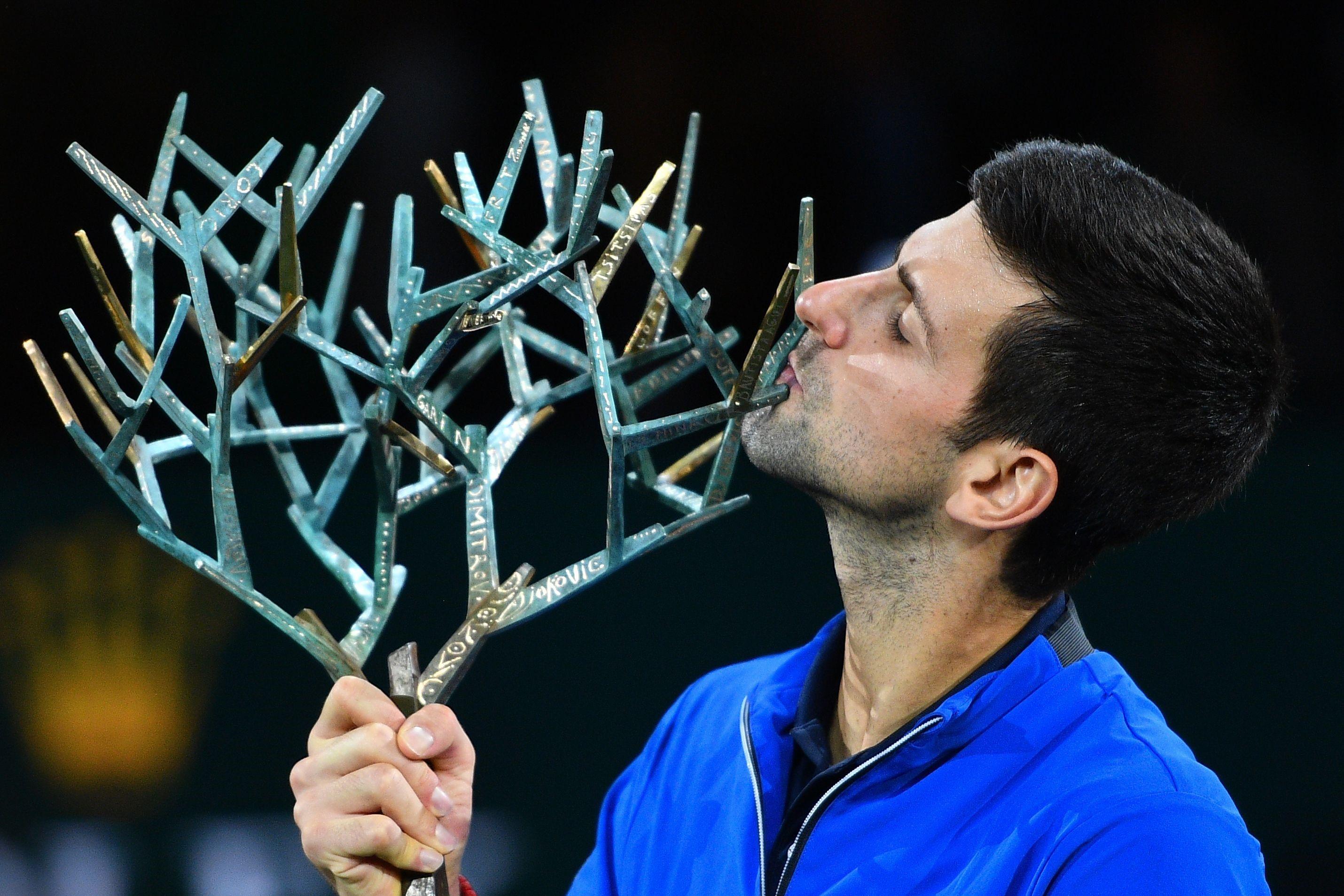 Djokovic, Paris Masters 2019