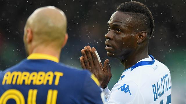 Balotelli thanks support after being racially abused at Verona