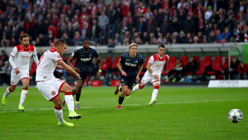 1 Fc Koln Verliert Derby Bei Fortuna Dusseldorf