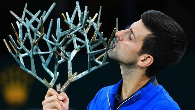 Avec 77 titres, Djokovic avance dans le gotha : Son palmarès XXL à la loupe