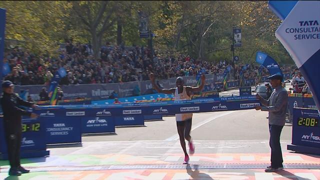 New York Marathon- men and women's finishes