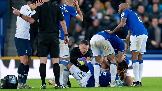 Жуткое зрелище: чемпион Европы получил ужасную  травму вматче британской  премьер-лиги