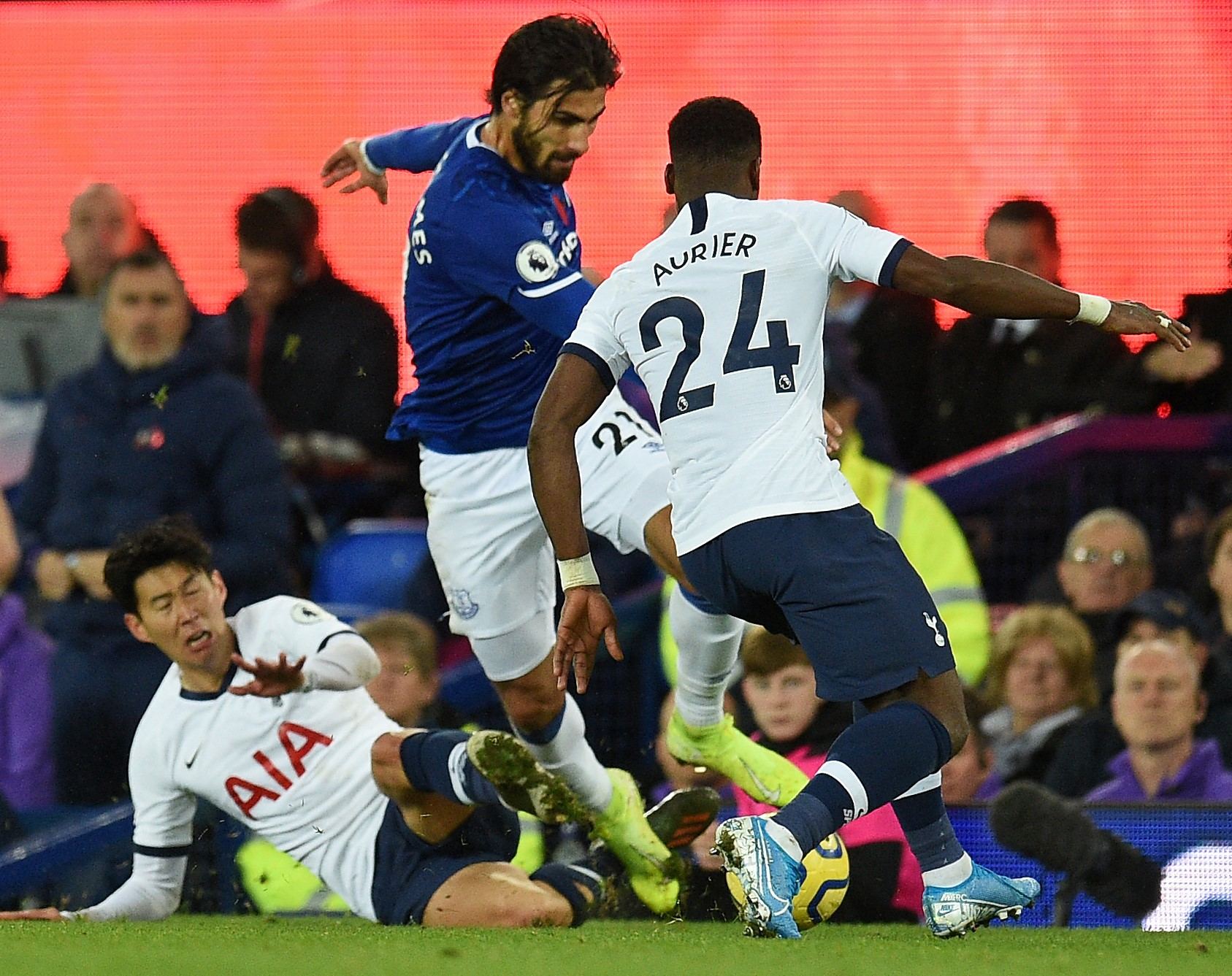 Son's challenge resulted in Gomes' suffering a serious ankle injury
