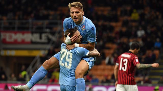 Immobile et la Lazio confirment