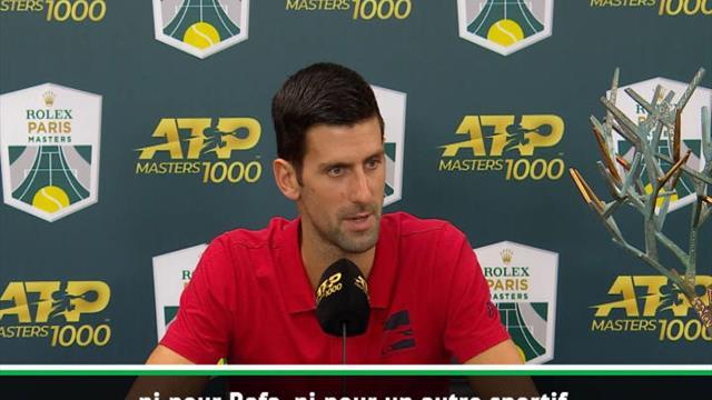 Djokovic : ''Avec ou sans Nadal, ce n'est pas pareil''