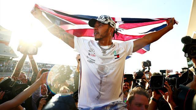 Hamilton schnappt sich sechsten WM-Titel