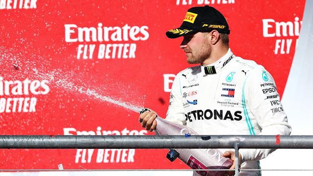 Valtteri Bottas cambia la power unit, penalità sulla griglia di partenza