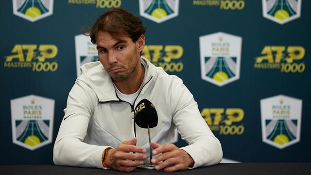 ATP Finals Nadal in dubbio per un problema all'addome. Ma lui