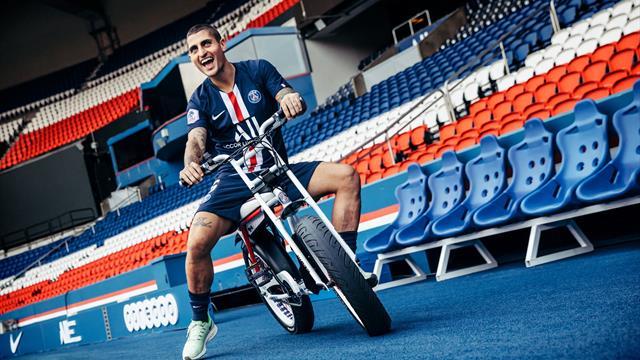 PSG a lansat o serie limitată de biciclete electrice