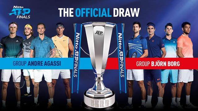 Horarios y orden de juego ATP Finals 2019 de tenis