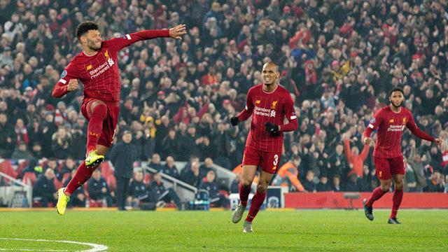 Knapper Sieg gegen Genk: Liverpool springt an die Spitze