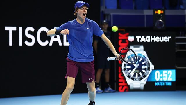 Sinner è il primo semifinalista delle Next Gen ATP Finals: demolito Ymer