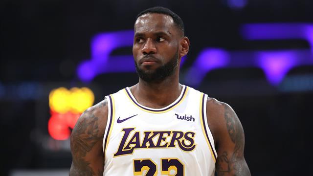 Avec un LeBron royal, les Lakers ne s'arrêtent plus de gagner