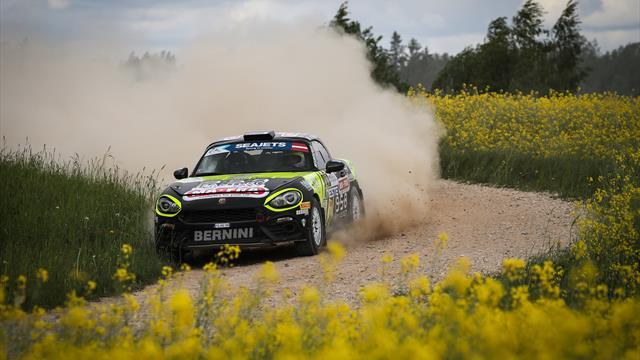 Nucita et Polonski vont se battre pour les 30 000 € de l'Abarth Rally Cup en ERC