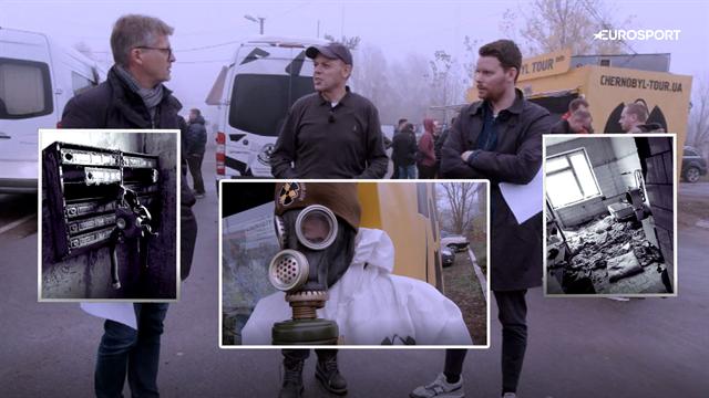 På besøg i Tjernobyl: Følg Marker, Piil og Bruuns færd i den katastroferamte ukrainske by