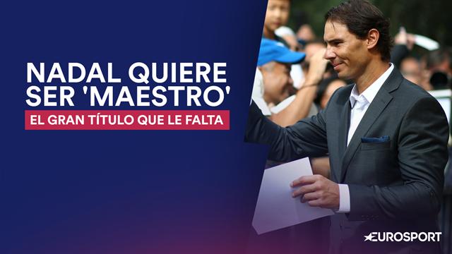 ATP Finals: Nadal y el sueño de una Copa de Maestros que se le resiste