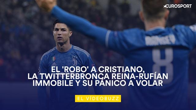 El vídeobuzz: El enfado de Cristiano tras robarle Ramsey un gol en Moscú