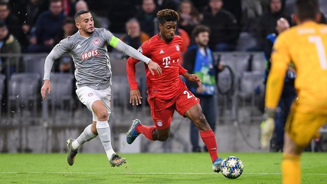 FC Bayern in der Einzelkritik: Coman beißt sich rein