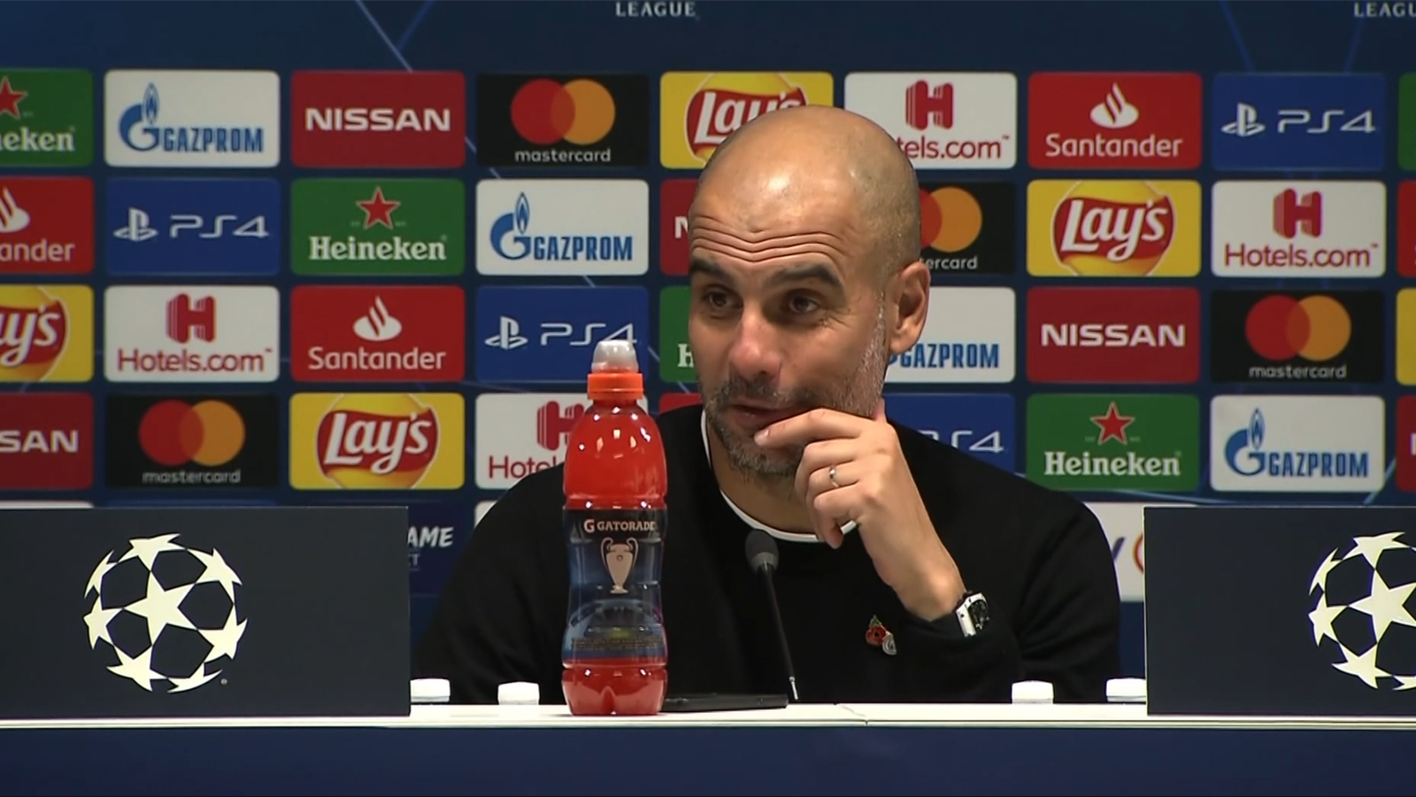 Ander Page Videos 'he showed great courage' - pep praises stand-in keeper walker