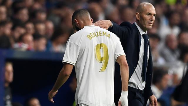 """Zidane : """"Benzema a sa place en équipe de France"""""""