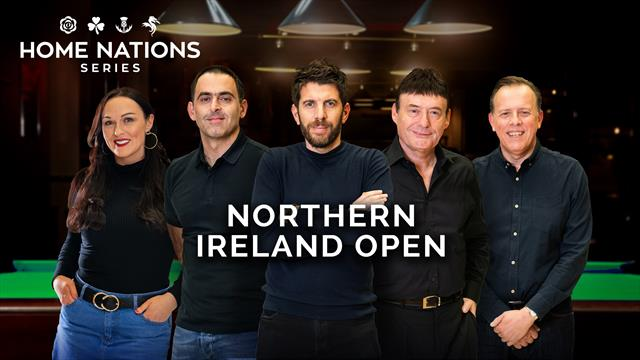 Watch the Northern Ireland Open LIVE on Eurosport and Eurosport Player