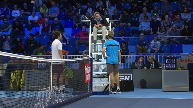 A peine utilisé, aussitôt contesté : le VAR ne fait pas non plus l'unanimité en tennis