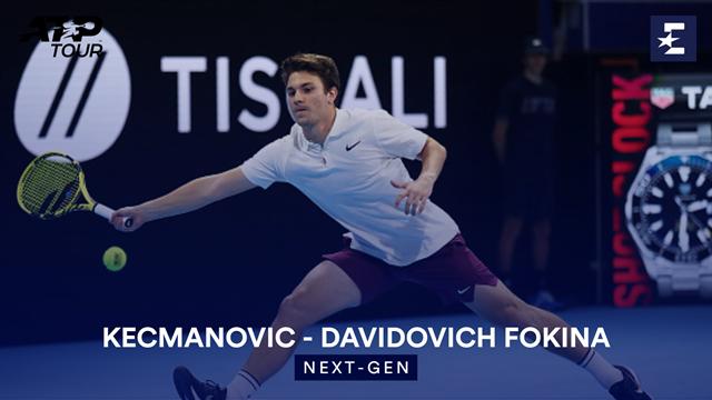 Høydepunkter: Kecmanovic - Davidovich Fokina