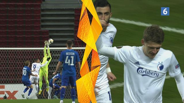 Kievs keeper taber bolden og Stage er klar på riposten!
