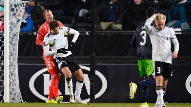 Null poeng, ett mål og åtte baklengs – Rosenborg utslått av Europa League