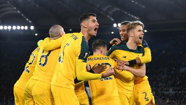 Celtic, Sevilla and Basel qualify for Europa League last-32