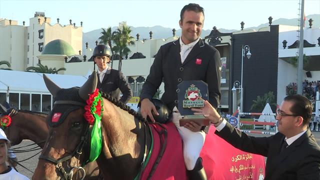 Equestrian - Morocco Royal Tour: Pierre Olivier win CSI 4 Tetouan