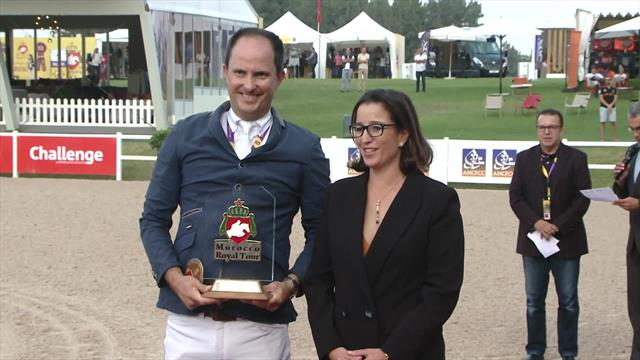 Equestrian - Morocco Royal Tour : Bernardo Alves win CSI 4 Rabat